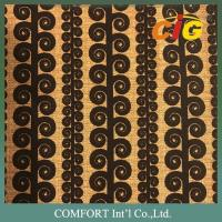 Buy cheap 100 Polyester Upholstery Fabric Flocking Fabric For Sofa / Furniture / Chair product