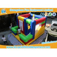 Buy cheap Customized Color Inflatable Bouncy Castle Inflatable Kids Area 4*4.8*4.2m from wholesalers