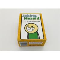 Buy cheap Durable Joking Hazard Board Game , Family Board Games Not For Kids 180g product