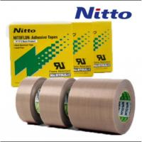 Buy cheap Nitto 973UL High Temperature PTFE Teflon Fiberglass Tape with Silicone Adhesive from wholesalers