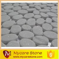Buy cheap Hot selling Flat & white river rocks wholesale, flat pebble on sale from wholesalers