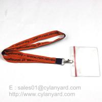Buy cheap Custom made woven lanyards, low cost woven neck ribbons factory from China product