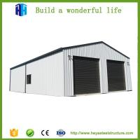 Buy cheap Prefab car showroom steel structure rent warehouse garage workshop sale from wholesalers