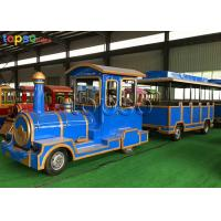 Buy cheap 40 Seats Trackless Train Ride Diesel  Theme Park Sightseeing Train Ride from wholesalers