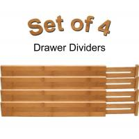 Buy cheap adjustable bamboo wooden drawer dividers silverware dividers from wholesalers