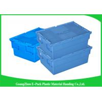 Buy cheap Economic Plastic Food Storage Plastic Boxes , Supermarkets Attached Lid Distribution Containers from wholesalers