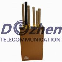 Buy cheap 3G 4G Mobile Phone GPS Jammer 10 Meters Radius 400g Weight With Brown Color from wholesalers