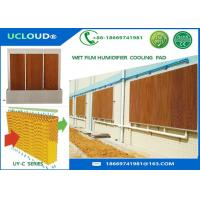 Buy cheap Non Toxic Evaporative Cooling Media For Mist Cooling System Resistant To Mold from wholesalers