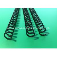 Buy cheap Round Black Plastic Spiral Coils 7/16'' , Unlocking Binding Coil For Books from wholesalers