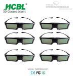 Buy cheap Universal Active 3D Eyewear BT 3D Shutter Glasses For Sharp / Changhong / Skyworth / Konka from wholesalers