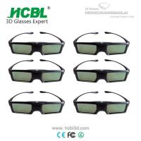 Universal Active 3D Eyewear BT 3D Shutter Glasses For Sharp / Changhong / Skyworth / Konka