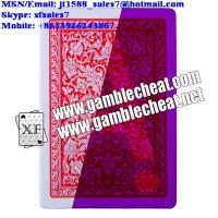 Buy cheap XF Invisible ink Marked Playing Cards For UV Contact Lenses Infrared Bar-Codes Camera from wholesalers