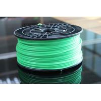 Quality Grade A 3mm PLA Filament / Green 3.0mm PLA Plastic Filament for sale