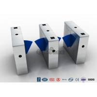 Buy cheap Multi - Lane Half Height Turnstiles , Optical Flap Barrier Access Control from wholesalers