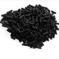 Buy cheap Toxic gas remove coal-based 4.0mm pelleted activated carbon High adsorption from wholesalers