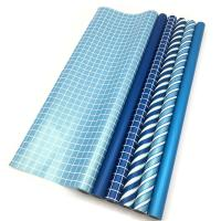 Buy cheap Double Side Gift Wrapping Paper Roll Size 70 X 500 Cm Various Color Available from wholesalers