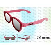 Buy cheap REALD Cinema Colorful kids Circular polarized 3D glasses from wholesalers