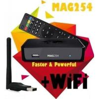 Buy cheap MAG 254 Latest Original Linux IPTV/OTT Box Processor than MAG 250 iptv arabic IPTV CLINE from wholesalers