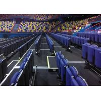 Buy cheap Comfortable Telescopic Seating Systems Upholstered Chair For Performing Arts Venues from wholesalers