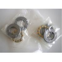Buy cheap Chrome Steel Plane Miniature Thrust Bearings Brass Cage Low Voice product