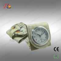 Buy cheap Folding mini fancy desk alarm clock and travel alarm clock with moscow building printed from wholesalers