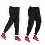 Buy cheap Mens Pants for Sports Hot Sale Summer Shorts Jogger Pants Black from wholesalers
