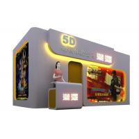 Buy cheap Amusement Equipment Virtual Reality Game Hydraulic Motion 5D 7D XD Theater product