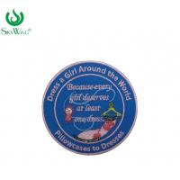 Buy cheap Beautiful Sew On Custom Embroidered Patches Customized Material Oem Service from wholesalers