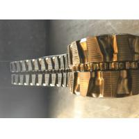 Flexible Excavator Rubber Tracks 82 Links 4510mm Overall Length For Hitachi