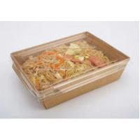 Buy cheap takeaway food packaging container kraft food packaging box lunch box from wholesalers
