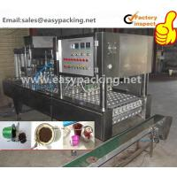Buy cheap 2015 new hot sale automatic coffee capsule filling and sealing machine for K cup, nespresso, lavazza from wholesalers