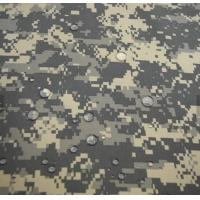 Buy cheap High quality fashion Waterproof  pvc coated winter snow camouflage fabric from wholesalers
