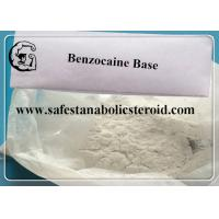 Buy cheap Benzocaine Pain Killer Powder CAS 94-09-7 Benzocaine Base Supplements from wholesalers