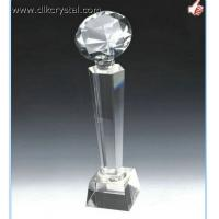 Buy cheap crystal trophy award souvenirs for golf player diamond brazil world cup trophy pulicrystal-202 from wholesalers