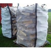 Buy cheap Custom Ventilated Bulk Bags , PP Woven Bag for Packing Firewood from wholesalers