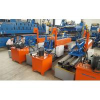 Buy cheap Light Gauge Steel Frame Cold Roll Forming Machine With Fly Shear / Delta PLC Control from wholesalers