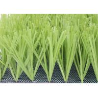Buy cheap Comfortable Football Field Artificial Grass With PP + NET Backing Light Green from wholesalers