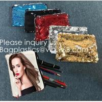 Buy cheap Heat Transfer Blank Magic Sequin Small Hand bag For Sublimation Printing,Sublimation Multicolor Sequin Bag Blanks  pack from wholesalers