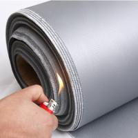 Buy cheap high temperature resistant insulation colorful silicone rubber coated fiberglass cloth/fabric from wholesalers