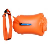20L 28L Open Water Swim Buoy , Light Weight Swim Buoy Dry Bag For Triathletes
