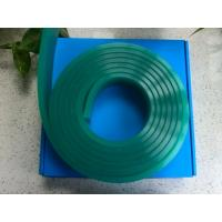 Buy cheap Polyurethane Screen Printing Squeegee Blades Green 50 * 9 Width 109mm Chemical Resistant from wholesalers