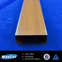 Buy cheap High Quality Aluminum Wooden Grain Baffle Ceiling/Wooden Metal Ceiling Decoration/Wooded B from wholesalers