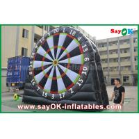 Buy cheap Logo Printing 0.55mm PVC Inflatable Sports Game Customized Size Football Darts Board from wholesalers