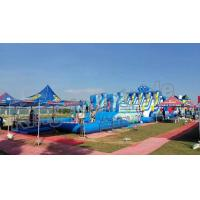 Buy cheap Backyard Big Amazing Inflatable Water Parks Kid And Adult Outdoor Games product