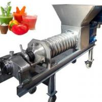 Buy cheap High efficiency industrial fruit and vegetable screw juicer chemical pulping black liquor from wholesalers