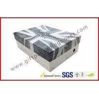 Buy cheap Customized Grey Board Lid and Base Apparel Gift Boxes for Dressing , Wedding Favour Packing Boxes product