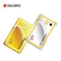Buy cheap 2018 High Security Level CPU Chip Proximity Cards Smart Contact IC Card from wholesalers