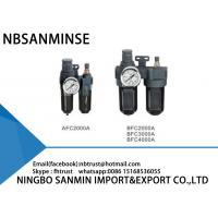 Instrument Air Filter Regulator Lubricator High Performance AFC / BFC Series