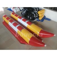 Buy cheap Commercial Grade Children Inflatable Banana Boat Used In Lake from wholesalers
