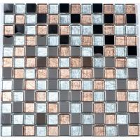 Buy cheap Mixed color family bathroom glass border tiles kitchen wall tiles border from wholesalers